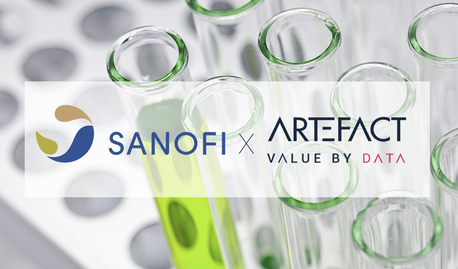 Sanofi and Artefact will host a conference at AI For health 2020