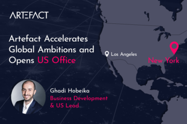 Artefact accelerates global ambitions and opens US office