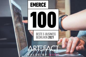 Artefact once again named among best large digital marketing agencies in Emerce100