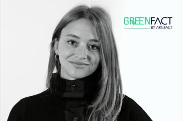 "Artefact voit green. Lucie Marchais, Head CSR, raconte <span class=""highlight"">GreenFact</span>."